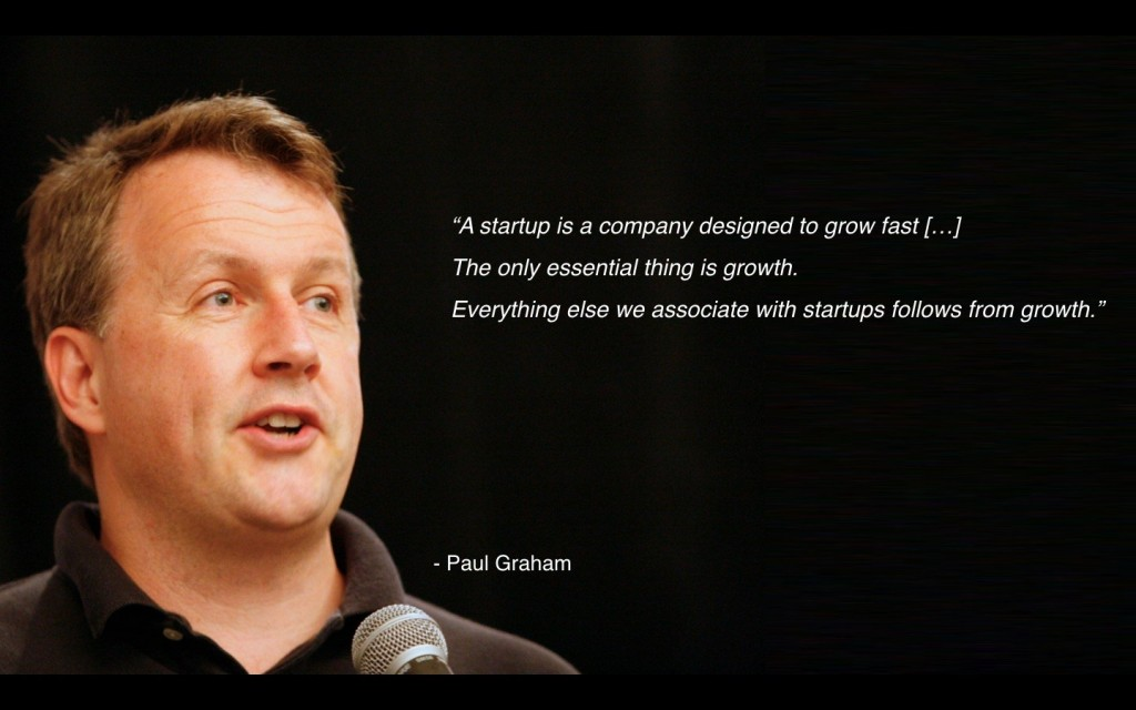 Paul Graham, co-founder venture capital Y Combinator.